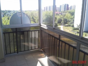 Zabudowa balkonu w bloku warszawa