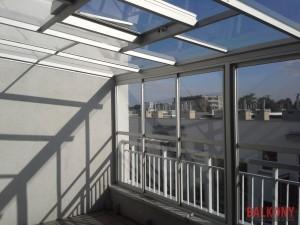 Zabudowa balkonu i zadaszenie